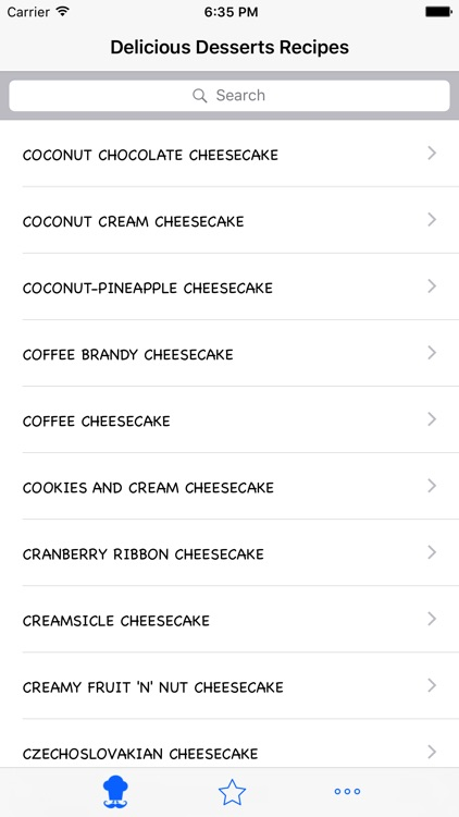 Delicious Desserts Recipes screenshot-1