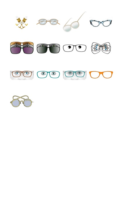 Glasses Sticker Pack