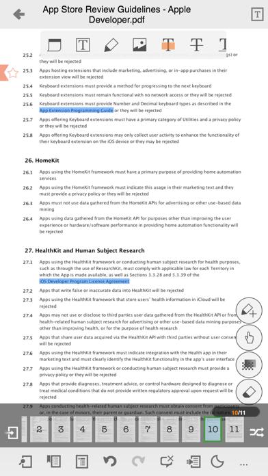 ezPDF Reader: PDF Reader, Annotator & Form Filler screenshot four