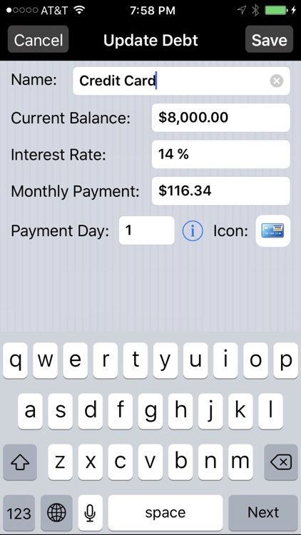Debt Payoff Pro screenshot-2
