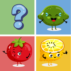 Activities of Fruit & Vegetable Match Free-Matching Game For Kid