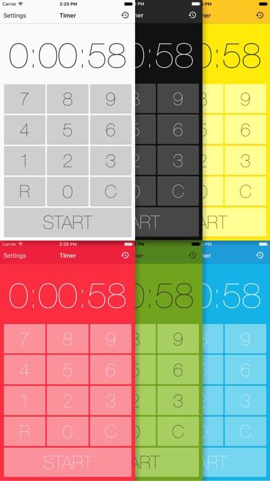 タイマー - 人気のキッチンタイマー&ストップウォッチアプリのスクリーンショット3