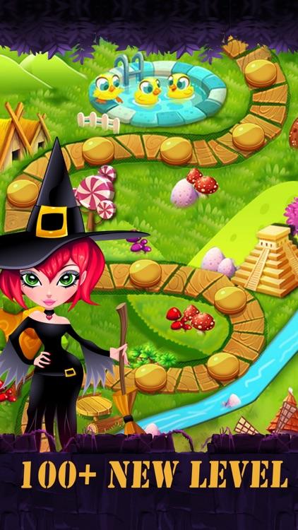 Mystic runes stone - Fantastic witch match game