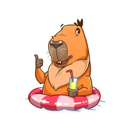 Capybara! Stickers
