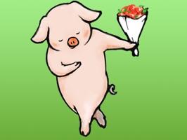 Story Of Reto Pig Sticker