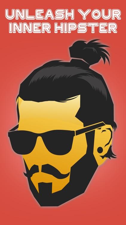 Hipster Emoji Stickers