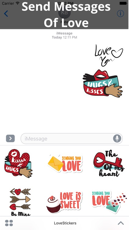 Love Stickers - Share Your Feelings