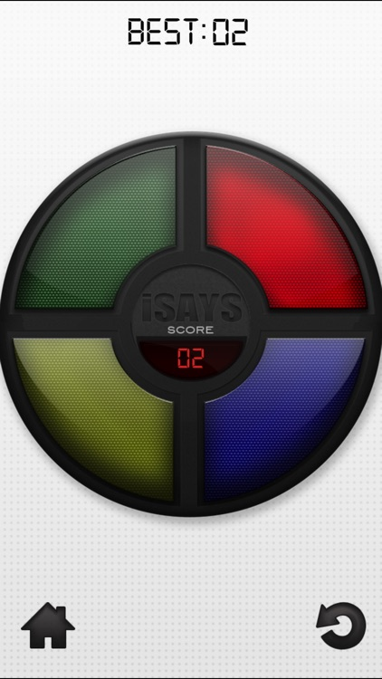 iSays Free - Simon Says Classic Color Memory Game screenshot-1