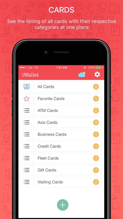 iWallet Pro - Credit Wallet