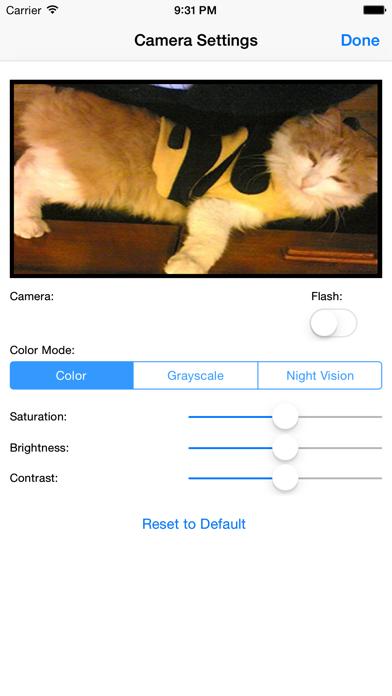 Pocketcam review screenshots