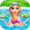 Pool Party Girl Makeup & Fashion Hair Salon - iPhoneアプリ