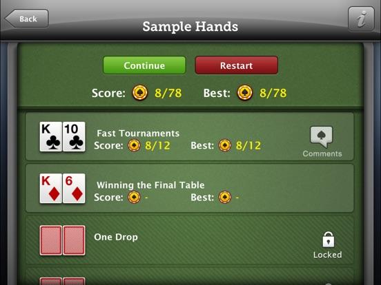 WPT Poker Trainer screenshot
