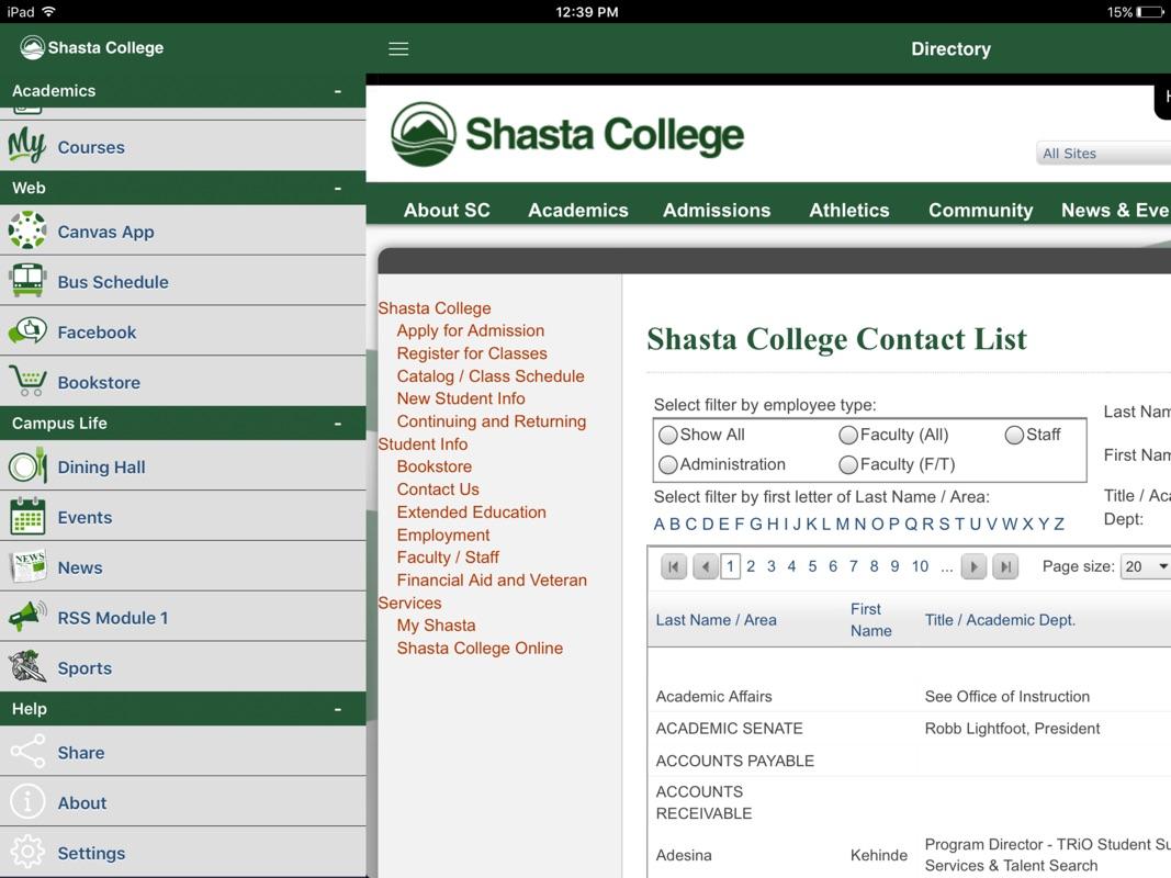 Shasta College Map | www.topsimages.com