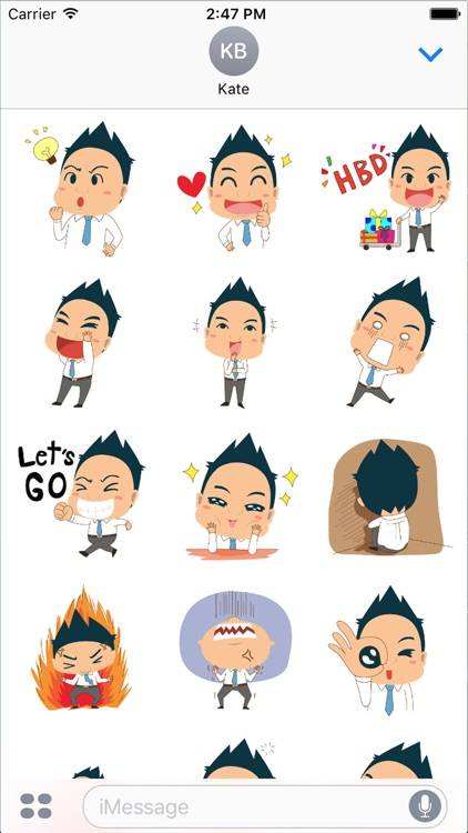 Mr.Tina Sticker