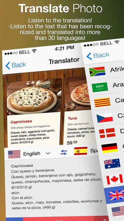 Translate Photo - OCR Camera Scanner & Translator screenshot-3