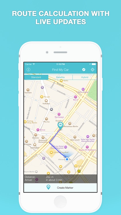 Find My Car - GPS Auto Parking Reminder & Tracker screenshot-4