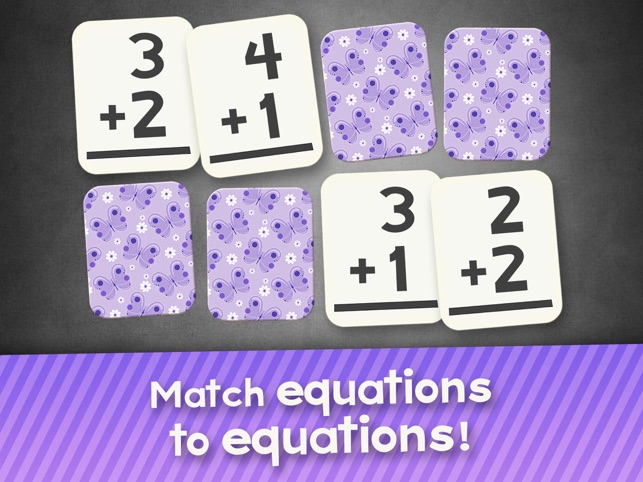 Addition Flash Cards Math Help Quiz Learning Games Screenshot