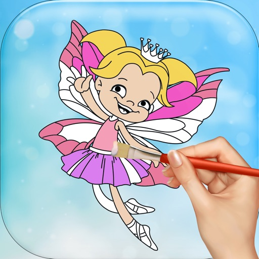 Fairies Coloring Games Free