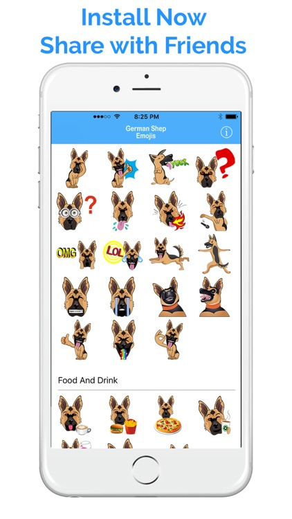 German Shep Emoji - GSD Emojis & Stickers screenshot-4