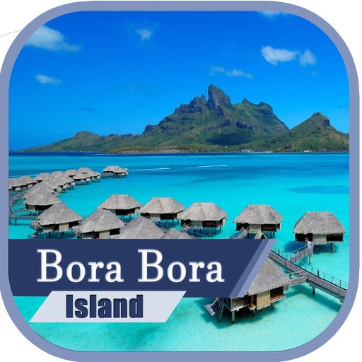 Bora Bora Island Travel Guide Offline Map By Rajesh M