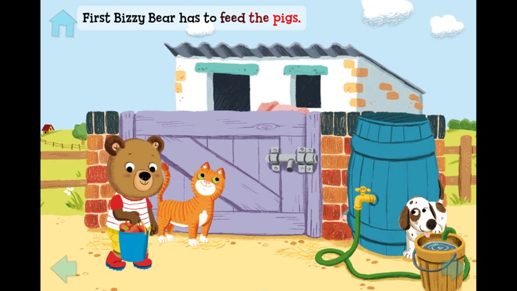 Bizzy Bear on the Farm