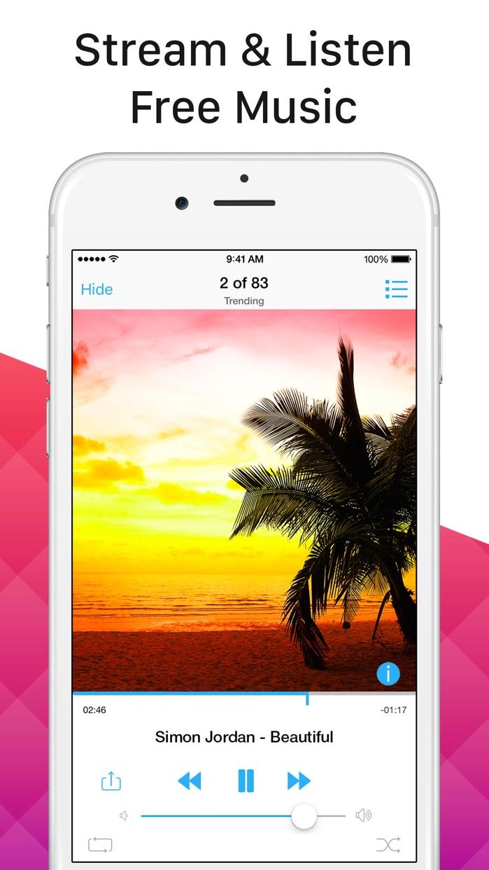 Multi Music Player - Song Streamer, Playlist Maker Screenshot