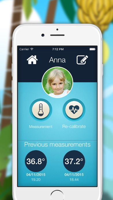 Screenshot for Children Thermometer in South Africa App Store