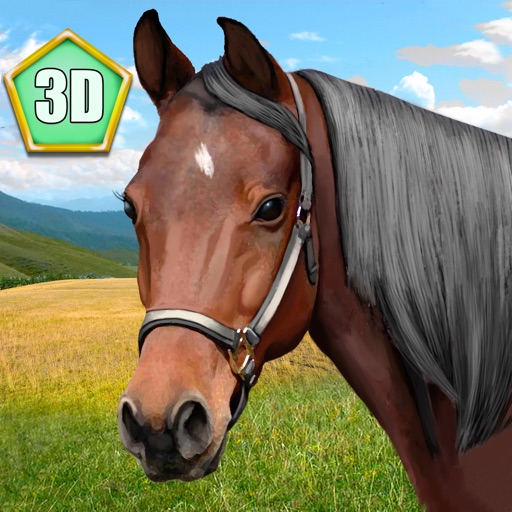 Wild Horse 3D Simulator icon