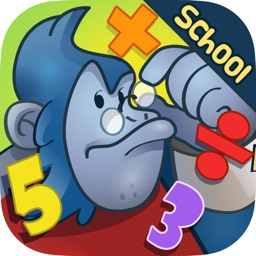 Math Run 2: Gorilla Chase - School Edition