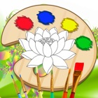 Flower Coloring Pages Free Games For Princess Girl icon