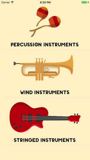 Musical Instruments Sounds For Kids