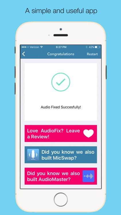 AudioFix: For Videos screenshot-4