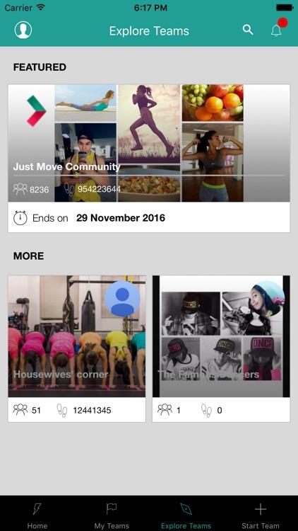 Just Move Fitness App screenshot-3