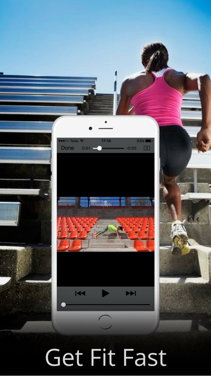 Fat Burning with Stairs Exercise Workout Routine screenshot-4