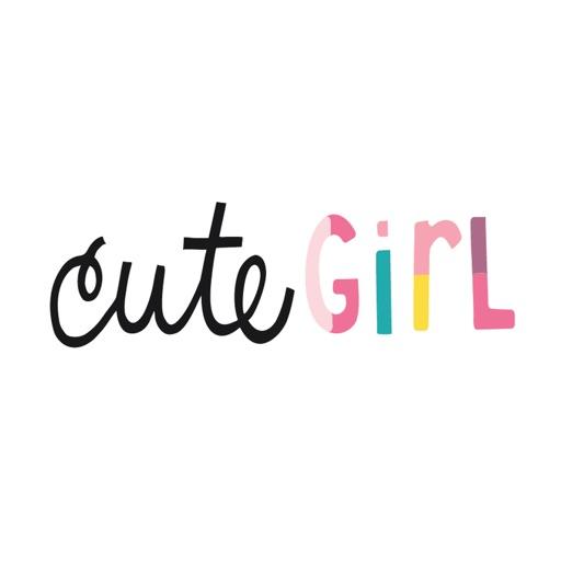 AC Cute Girl Stickers