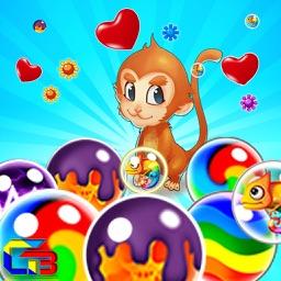 Bubble Breaker Monkey Witch