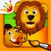 Jogos para Crianças 1+ anos Gratis: Colorir Savana