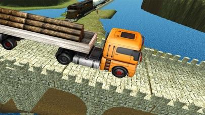 重い貨物輸送機:大型トラック運転3Dのおすすめ画像5