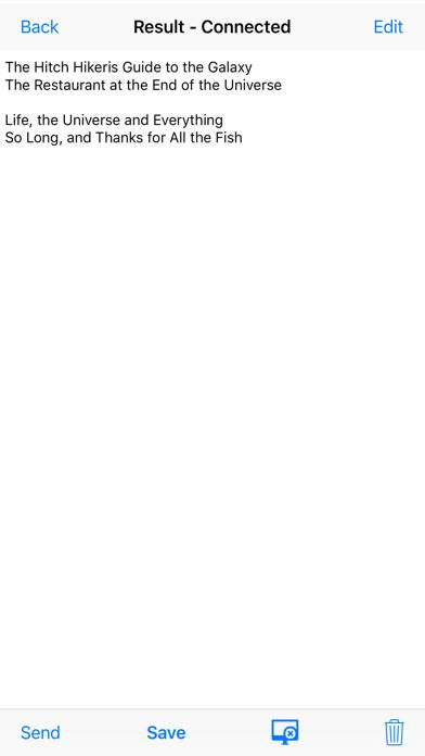Barcode Scanner Text Input