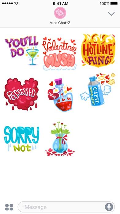 Flirty Sticker Set screenshot three