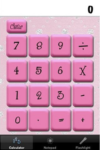 Pinky Office - The Pink Calculator and more! screenshot 1