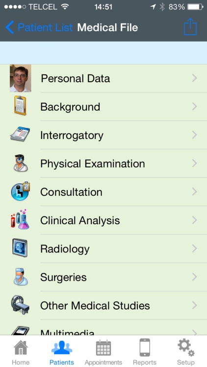 iDoctor Pro - Medical Record screenshot-1