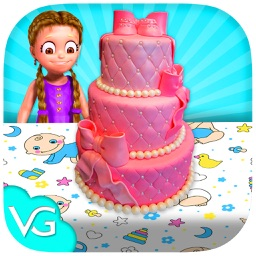 Baby Shower Party Cake Maker - Real Cake Designer