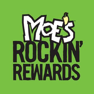 Moe's Rockin' Rewards Food & Drink app