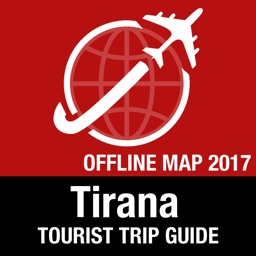 Tirana Tourist Guide + Offline Map