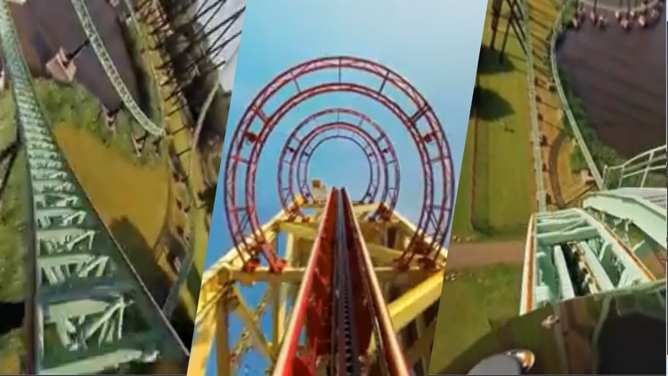 VR Thrills: Roller Coaster 360 (Google Cardboard) screenshot-1