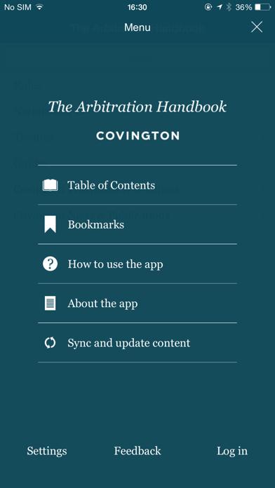 Covington Arbitration Handbook