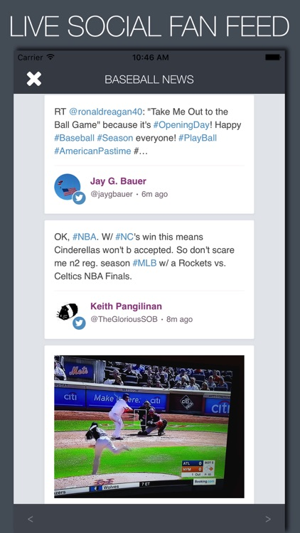 Live Baseball News, Scores & Predictions screenshot-4