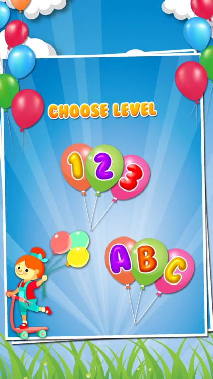 Balloon Pop For Kids - Learn ABC,numbers and Color screenshot-3