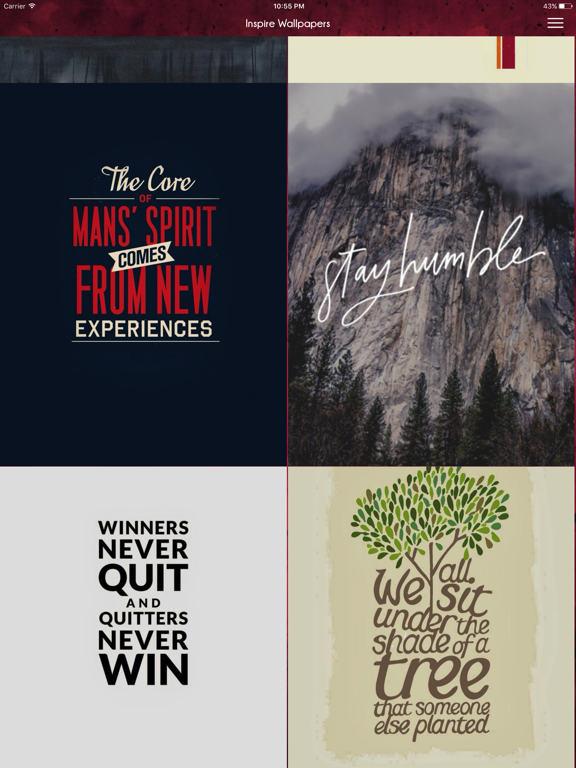 InspireWalls Free Download HD Quotes Wallpapers